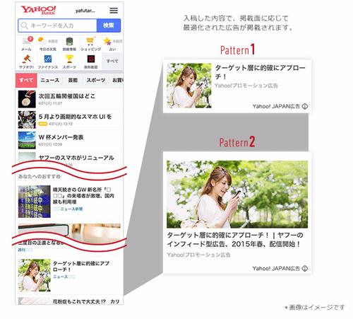 2-Yahoo!スマホトップページのタイムライン化の様子