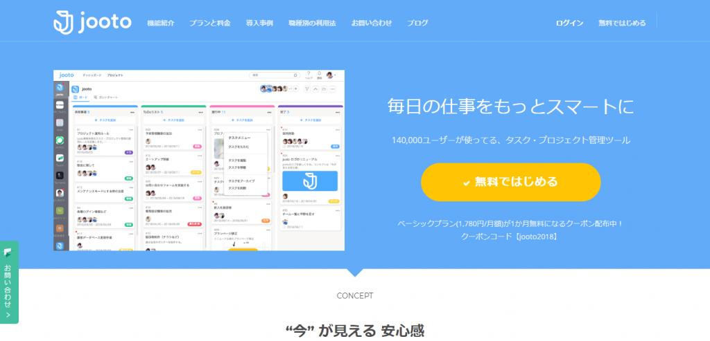 工数管理ツール|Jooto