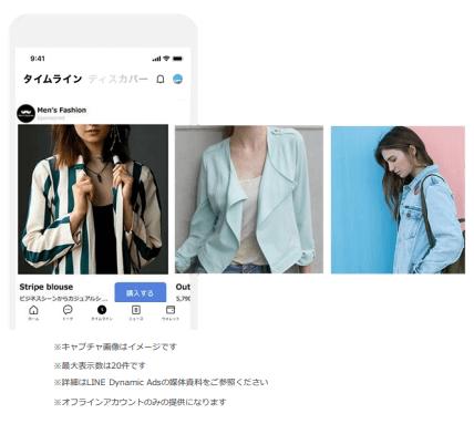 LINE ダイナミック 広告01 LISKUL